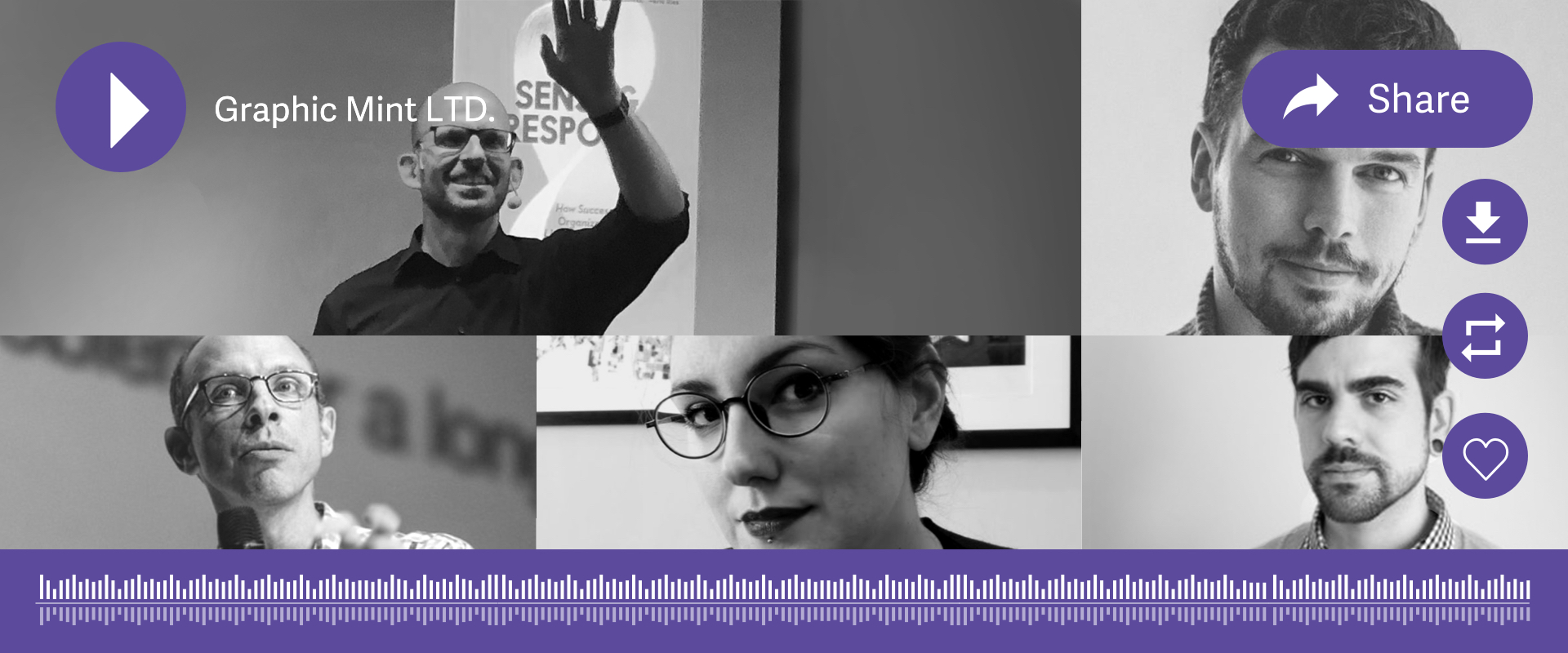 Graphic Mint UX Podcasts