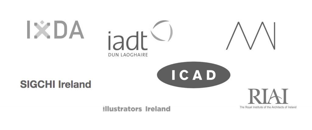 Image of irish design organisation logo's