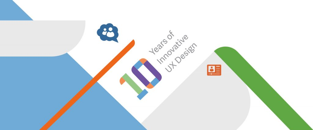 Graphic Mint poster to showcase 10 years of innovative UX Design.